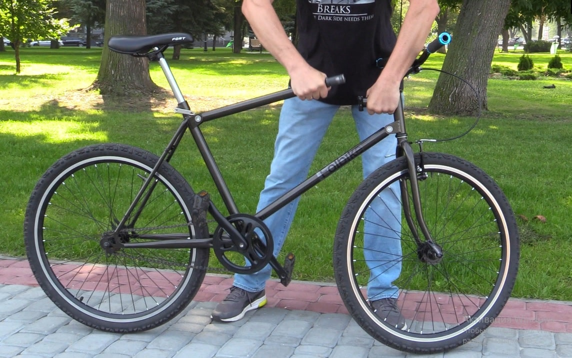 Folbike foldable bicycle